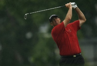 Tom Lehman in action during the second round of the Crowne Plaza Invitational at Colonial at the Colonial Country Club in Fort Worth, Texas on May 25, 2007. PGA TOUR - 2007 Crowne Plaza Invitational at Colonial - Second RoundPhoto by Steve Grayson/WireImage.com