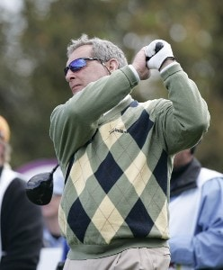 Fuzzy Zoeller during the first round of the Outback Steakhouse Pro-Am held at TPC Tampa Bay in Lutz, Florida, on February 16, 2007. Photo by: Stan Badz/PGA TOURPhoto by: Stan Badz/PGA TOUR