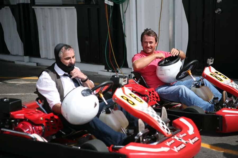 Feherty, Graeme McDowell and David Feherty