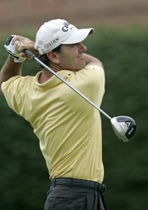 Len Mattiace during the first round of the Booz Allen Classic at TPC Avenel in Potomac, Maryland, on June 22, 2006.Photo by Hunter Martin/WireImage.com