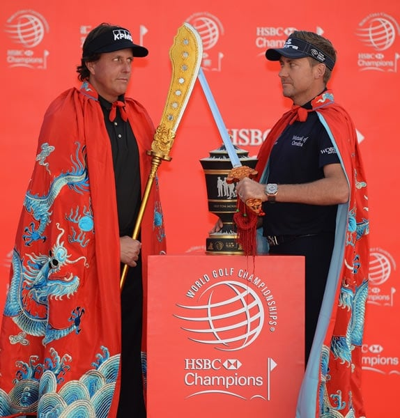 Phil Mickelson, Ian Poulter