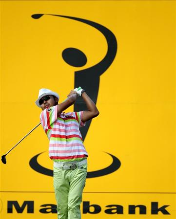 KUALA LUMPUR, MALAYSIA - MARCH 05:  Shingo Katayama of Japan during the second round of the Maybank Malaysia Open at the Kuala Lumpur Golf & Country on March 5, 2010 in Kuala Lumpur, Malaysia.  (Photo by Ross Kinnaird/Getty Images)