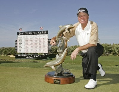 Keith Fergus wins The Ginn Championship at Hammock Beach held on The Ocean Course at Hammock Beach in Palm Coast, Florida, on April 1, 2007. Photo by: Chris Condon/PGA TOURPhoto by: Chris Condon/PGA TOUR