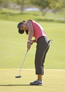 Grace Park in action during the first round of the 2006 Safeway International, Thursday, March 16, 2006 at Superstition Mountain Golf and Country Club in Superstition Mountain, Arizona.Photo by Marc Feldman/WireImage.com