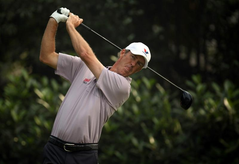 SHANGHAI, CHINA - NOVEMBER 07:  Richard Green of Australia during the final round of the WGC - HSBC Champions at Sheshan International Golf Club on November 7, 2010 in Shanghai, China.  (Photo by Ross Kinnaird/Getty Images)