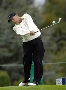 Wayne Levi during the first round of the JELD-WEN Tradition at The Reserve Vineyards & Golf Club in Aloha, Oregon on Thursday, August 24, 2006.Photo by Steve Levin/WireImage.com