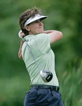Michele Redman in action during the third round of the Wendy's Championship for Children, Tartan Fields Golf Club, Dublin, Ohio. Saturday August 27th, 2005Photo by Hunter Martin/WireImage.com
