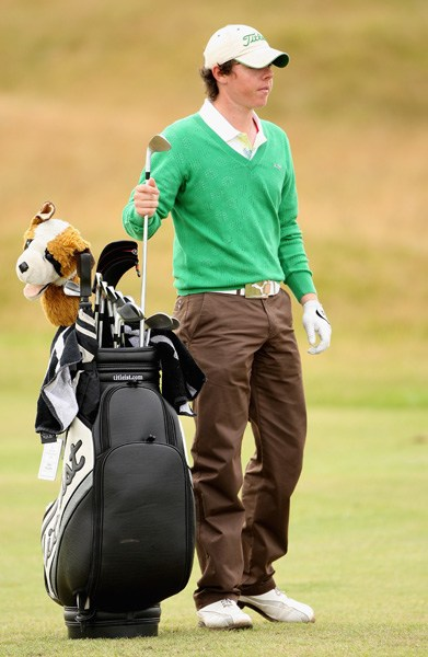 Rory McIlroy at the 2007 Amateur Championship
