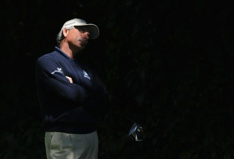 PACIFIC PALISADES, CA - FEBRUARY 20:  Fred Couples ponders on the 12th hole during the final round of the Northern Trust Open at Riviera Country Club on February 20, 2011 in Pacific Palisades, California.  (Photo by Stuart Franklin/Getty Images)