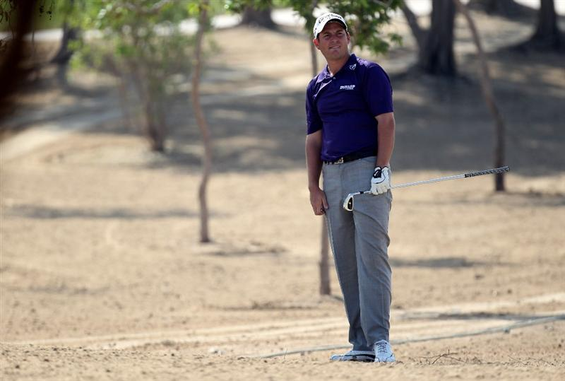 ABU DHABI, UNITED ARAB EMIRATES - JANUARY 23:  David Howell of England on the 13th hole during the third round of the Abu Dhabi Golf Championship at the Abu Dhabi Golf Club on January 23, 2010 in Abu Dhabi, United Arab Emirates.  (Photo by Ross Kinnaird/Getty Images)