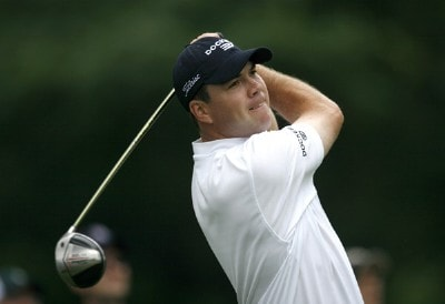 Arron Oberholser in action during the third round of the 2007 Crowne Plaza Invitational at Colonial at the Colonial Country Club in Fort Worth, Texas, on May 26, 2007. PGA TOUR - 2007 Crowne Plaza Invitational at Colonial - Third RoundPhoto by Steve Grayson/WireImage.com