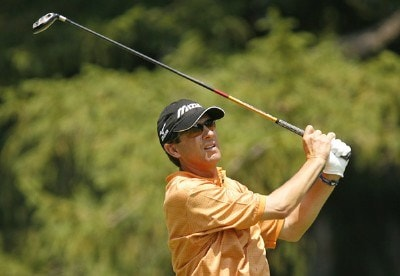 Billy Andrade during the third round of the AT&T National at Congressional Country Club on July 7, 2007 in Bethesda, Maryland. PGA TOUR - 2007 AT&T National - Third RoundPhoto by Hunter Martin/WireImage.com