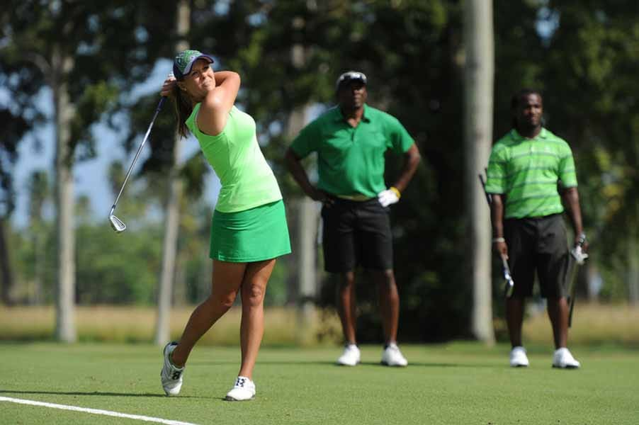 Mallory Blackwelder on Big Break NFL Puerto Rico