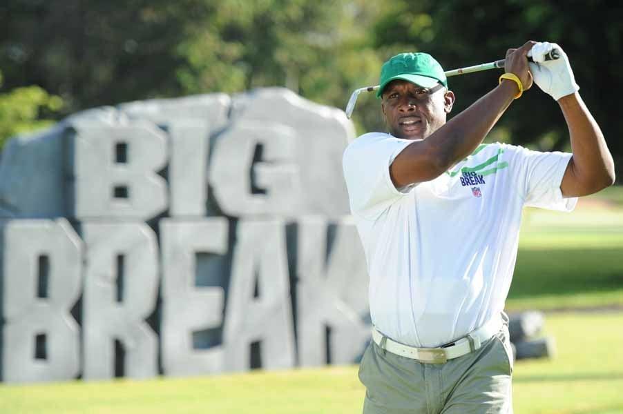 Tim Brown on Big Break NFL