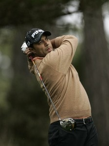 Arjun Atwal during the second round of the AT&T Pebble Beach Pro-Am at Pebble Beach Golf Links, in Pebble Beach, California on February 9, 2007. PGA TOUR - 2007 AT&T Pebble Beach National Pro-Am - Second RoundPhoto by Michael Cohen/WireImage.com