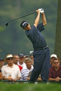 Billy Andrade during the third round of the 88th PGA Championship at Medinah Country Club in Medinah, Illinois, on August 19, 2006.Photo by Mike Ehrmann/WireImage.com