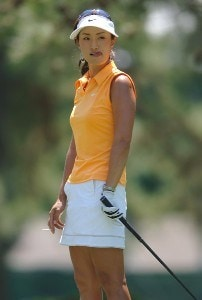 Grace Park in action during the third round of the LPGA's 2006 Michelob ULTRA Open at Kingsmill, at the Kingsmill Resort and Spa River Course in Williamsburg, Virginia on May 13, 2006.Photo by Steve Grayson/WireImage.com