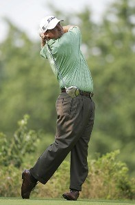 Chris Smith during the first round of the Cialis Western Open on the No. 4 Dubsdread course at Cog Hill Golf and Country Club in Lemont, Illinois on July 6, 2006.Photo by Michael Cohen/WireImage.com