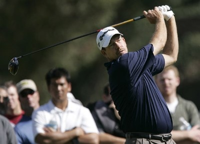 Bart Bryant in action during the second round of the PGA TOUR's 2007 Nissan Open at Rivera Country Club in Pacific Palisades, California on February 16, 2007. PGA TOUR - 2007 Nissan Open - Second RoundPhoto by Steve Grayson/WireImage.com