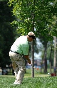 SILVIS, IL - JULY 14:  Carl Pettersson during the third round of The John Deere Classic at the TPC Deere Run on July 14, 2007 in Silvis, Illinois.   (Photo by Marc Feldman/WireImage) *** Local Caption *** Carl Pettersson PGA TOUR - 2007 John Deere Classic - Third RoundPhoto by Marc Feldman/WireImage) *** Local Caption *** Carl Pettersson