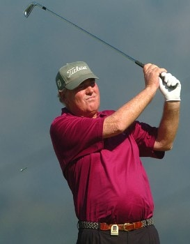 John Bland in action during the second round of the 2005 Boeing Greater Seattle Classic at TPC at Snoqualmie Ridge in Snoqualmie, Washington August 20, 2005.Photo by Steve Grayson/WireImage.com