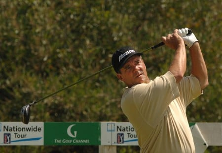 Scott Dunlap in action during the third round of the 2005 Mark Christopher Charity Classic Presented by Adelphia at Empire Lakes Golf Course in Rancho Cucamonga, California September 17, 2005.Photo by Steve Grayson/WireImage.com