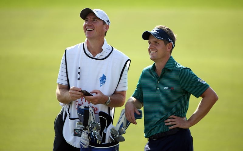 Luke Donald and John McLaren