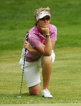 CORNING, NY - MAY 25:  Beth Bader waits to putt on the sixth green during the second round of the Corning Classic at the Corning Country Club on May 25, 2007 in Corning, New York.  (Photo by Kyle Auclair/Getty Images)