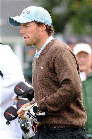 AUGUSTA, GA - APRIL 06:  Amateur Reinier Saxton of Holland looks on during a practice round prior to the 2009 Masters Tournament at Augusta National Golf Club on April 6, 2009 in Augusta, Georgia.  (Photo by Harry How/Getty Images)