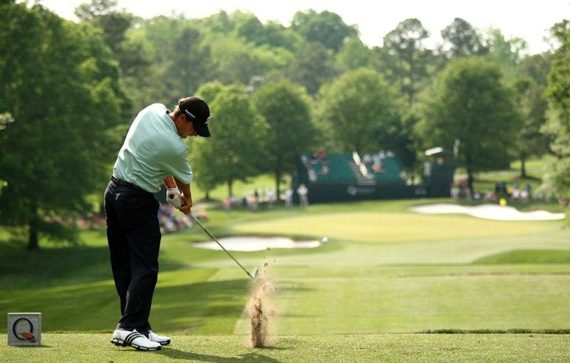 CHARLOTTE, NC - MAY 01:  Charles Howell III tee's off at the 6th during the second round of the Quail Hollow Championship at Quail Hollow Golf Club on May 1, 2009 in Charlotte, North Carolina.  (Photo by Richard Heathcote/Getty Images)