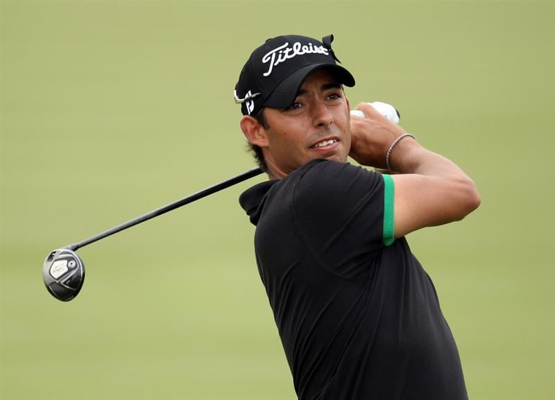 BARCELONA, SPAIN - MAY 07:  Pablo Larrazabal of Spain during the third round of the Open de Espana at the the Real Club de Golf El Prat on May 7 , 2011 in Barcelona, Spain.  (Photo by Ross Kinnaird/Getty Images)