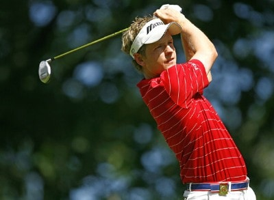 Luke Donald during the final round of the 88th PGA Championship at Medinah Country Club in Medinah, Illinois, on August 20, 2006.Photo by Mike Ehrmann/WireImage.com