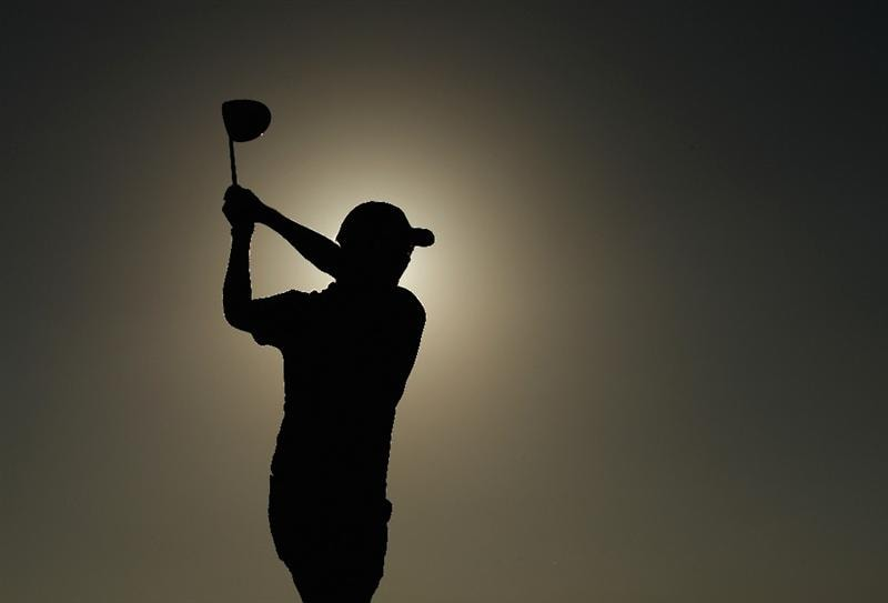 VILAMOURA, PORTUGAL - OCTOBER 16:  Mikko Ilonen of Finland tee's off at the 18th during the third round of the Portugal Masters at the Oceanico Victoria Golf Course on October 16, 2010 in Vilamoura, Portugal.  (Photo by Richard Heathcote/Getty Images)