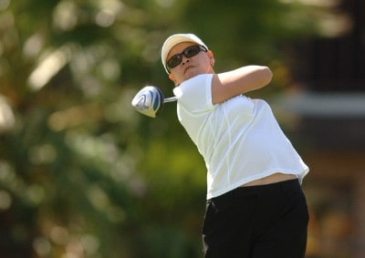 Dorothy Delasin in action during the final round of the LPGA's 2006 Takefuji Classic at the Las Vegas Country Club in Las Vegas, Nevada April 15, 2006Photo by Steve Grayson/WireImage.com