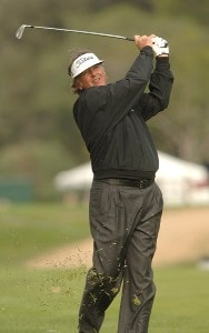 Tommy Armour III in action during the first round of the 2006 Nissan Open, Presented by Countrywide at Riviera Country Club in Pacific Palisades, California February 16, 2006.Photo by Steve Grayson/WireImage.com