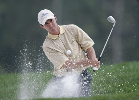 Mark Hensby of the International team during the second round of The Presidents Cup at Robert Trent Jones Golf Club in Prince William County, Virginia on September 23, 2005.Photo by Hunter Martin/WireImage.com