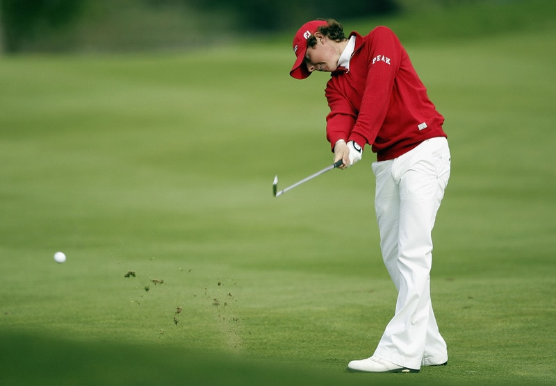 Rory McIlroy at the 2005 Nissan Irish Open