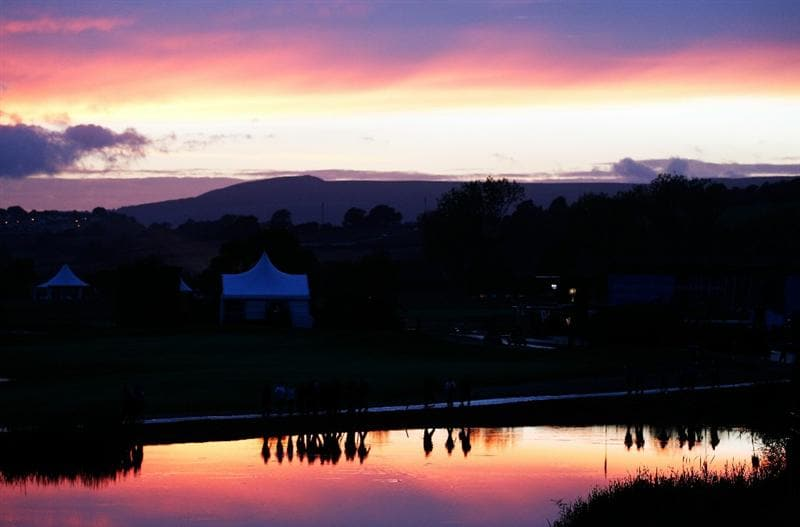 NEWPORT, WALES - OCTOBER 01:  General View during the Morning Fourball Matches during the 2010 Ryder Cup at the Celtic Manor Resort on October 1, 2010 in Newport, Wales. (Photo by Sam Greenwood/Getty Images)
