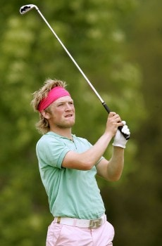 Pelle Edberg during the third round of the 2005 Aa St Omer Open at the Aa St Omer Golf Club. June 18, 2005Photo by Pete Fontaine/WireImage.com