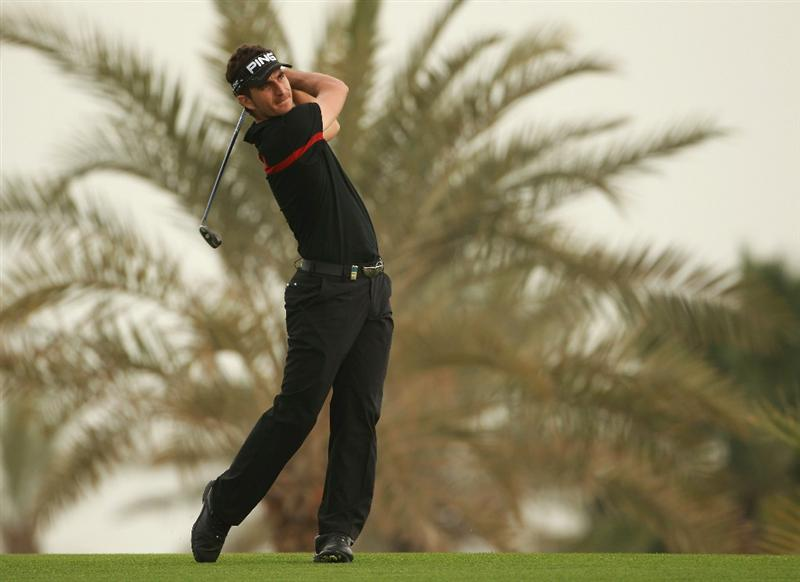 BAHRAIN, BAHRAIN - JANUARY 28:  Alejandro Canizares of Spain in action during the second round of the Volvo Golf Champions at The Royal Golf Club on January 28, 2011 in Bahrain, Bahrain.  (Photo by Andrew Redington/Getty Images)