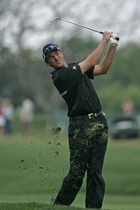 Greg Owen in action during the fourth round of the Bay Hill Invitational presented by MasterCard at the Bay Hill Club in Orlando, Florida on March 19, 2006.Photo by Michael Cohen/WireImage.com
