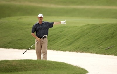 Jeff Quinney during the final round of THE PLAYERS Championship held on THE PLAYERS Stadium Course at TPC Sawgrass in Ponte Vedra Beach, Florida, on May 13, 2007. Photo by Sam Greenwood/WireImage.com