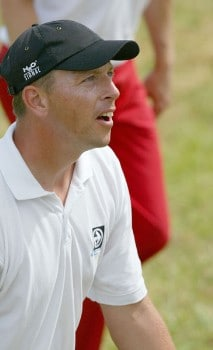Soren Hansen (DEN) during the second round of the 2005 Open de France at Le Golf National in St. Quentin, France on June 24, 2005.Photo by Alexanderk/WireImage.com
