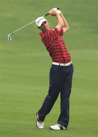 CHENGDU, CHINA - APRIL 21:  Steve Alker of New Zealand in action during first round of the Volvo China Open at Luxehills Country Club on April 21, 2011 in Chengdu, China.  (Photo by Ian Walton/Getty Images)