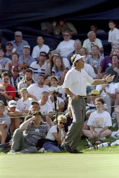 Phil Mickelson at the 1998 NEC World Series of Golf