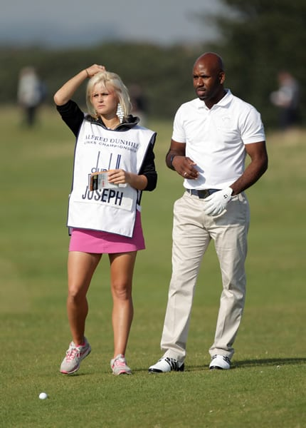 Carly Booth and DJ Spoony