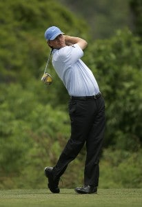 Lucas Glover during the 3rd round of the Zurich Classic played at the TPC of Louisiana in Avondale, LA on April 21, 2007 PGA TOUR - 2007 Zurich Classic of New Orleans - Third RoundPhoto by Mike Ehrmann/WireImage.com