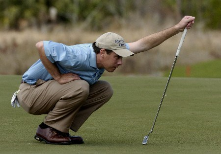 Joe Ogilvie   competes  in  second  round competition at the 2005 Honda Classic March 11, 2005 in Palm Beach Gardens, Florida.