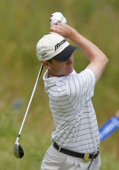 Andrew McLardy of South Africa during the third round of the 2005 Open de France at Le Golf National in St. Quentin, France on June 25, 2005.Photo by Alexanderk/WireImage.com