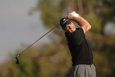 Thomas Levet in action during the second round of the PGA TOUR's 2006 Buick Invitationa at Torrey Pines South in La Jolla, California January 27, 2006Photo by Steve Grayson/WireImage.com